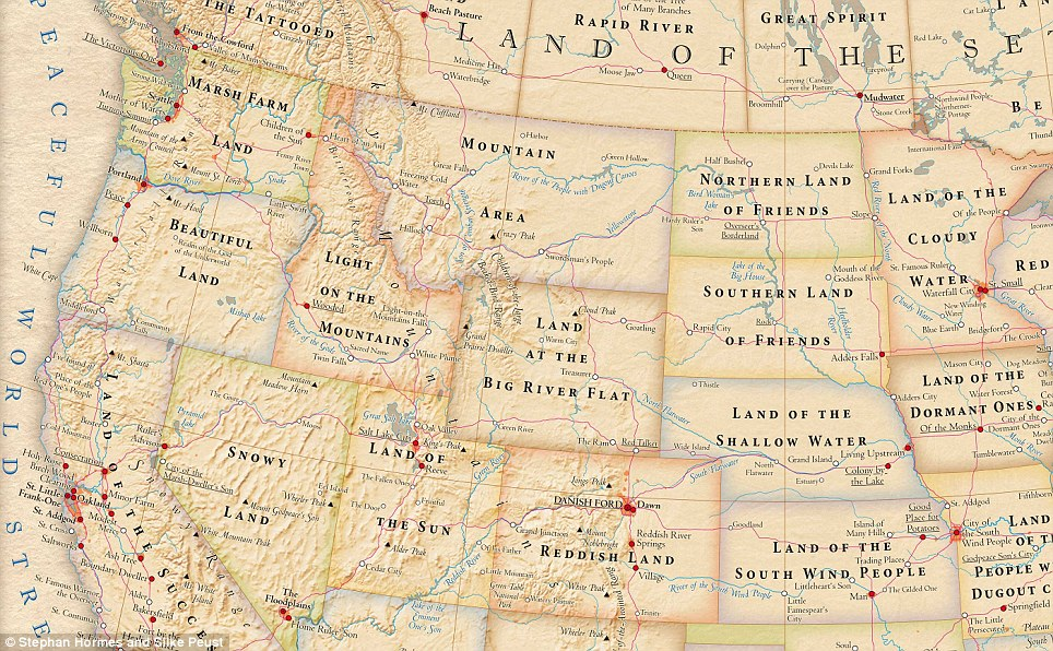 Northwest: There's no disputing Oregon's name as 'Beautiful Land' there's no wonder rainy Washington State is 'Marsh Farm Land'