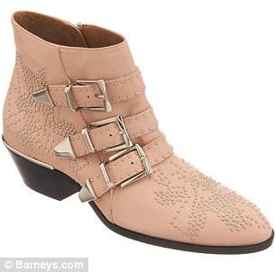 Chloé Susanna studded leather boots $1,345
