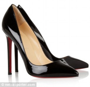 Christian Louboutin Pigalle 120 patent-leather pumps $625