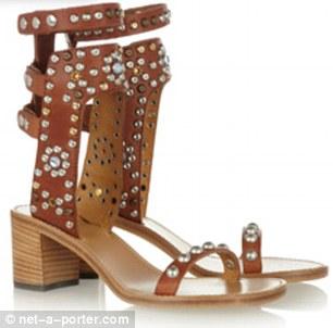 Isabel Marant The Carol studded leather sandals $1,035