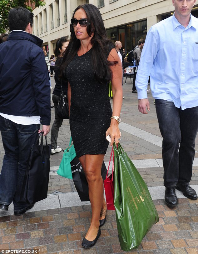 Well what else would she be doing? The 28-year-old paid a visit to Harrods and Space NK