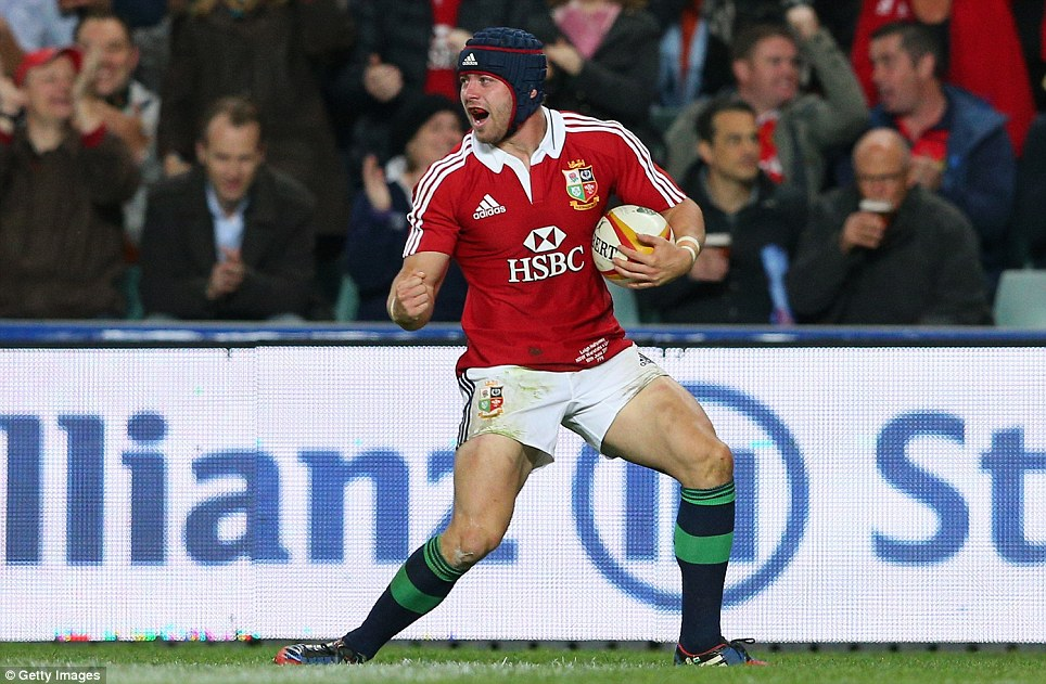 Mr Reliable: Leigh Halfpenny has been sensational for Wales recently and North is confident he can carry that into the Lions Tests against Australia