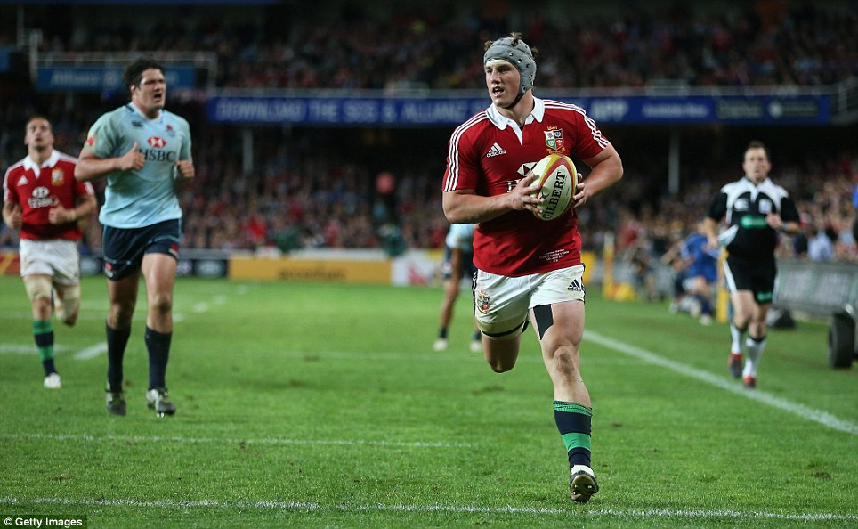 The Fox: Jonathan Davies has performed exceptionally well so far on the tour, and has become one of the first names to make it onto the teamsheet