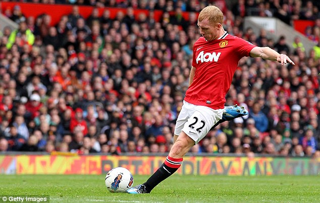 Retired: United need a long-term replacement for Paul Scholes