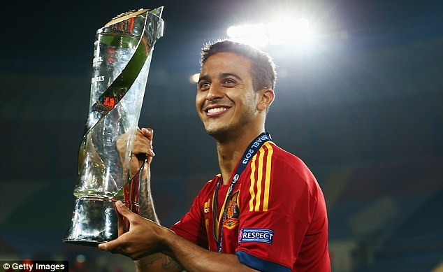 Incoming: Thiago Alcantara would significantly strengthen Manchester United's midfield