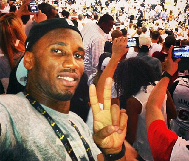 Magic: Drogba praised LeBron James for his performance in the NBA Finals