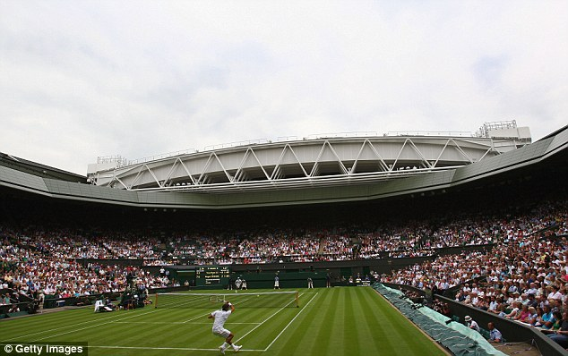 Cash boost: First round losers at Wimbledon this year will receive £23,500