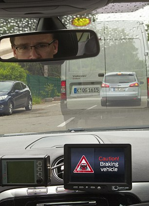 Clever: The system can tell if a car is breaking even if it is not the vehicle in front