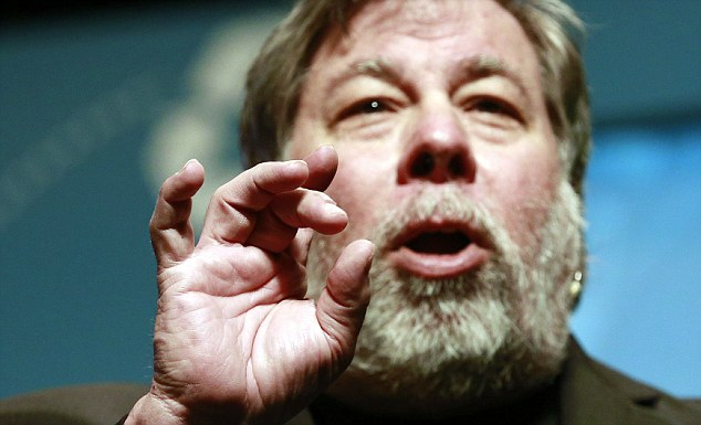 Huh? Apple co-founder Steve Wozniak is one of the first people to have met Kimye's baby, North West