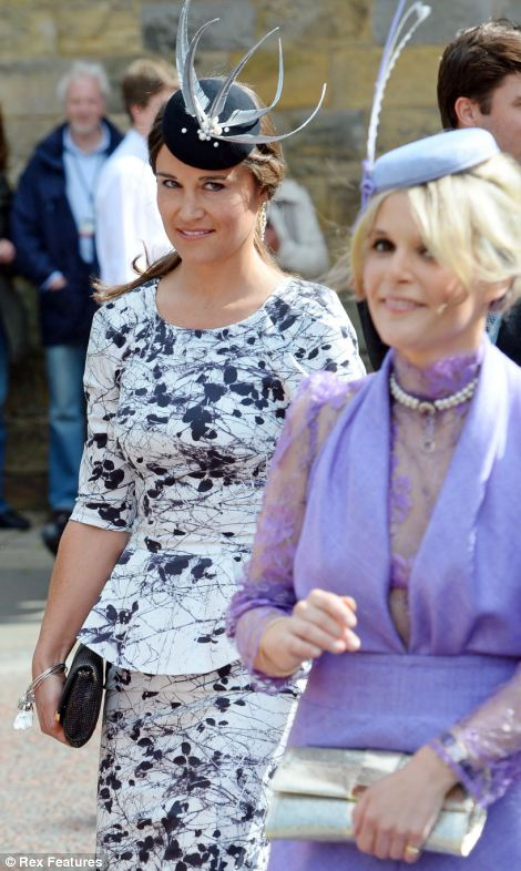 Pippa's heavily pregnant sister the Duchess of Cambridge was unable to attend