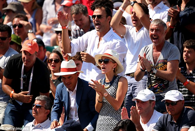 An unforgettable afternoon: Ristic cheers on Djokovic at Roland Garros