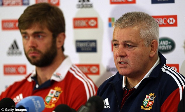 Possibilities: Coach Warren Gatland says the players have a chance of creating their own history