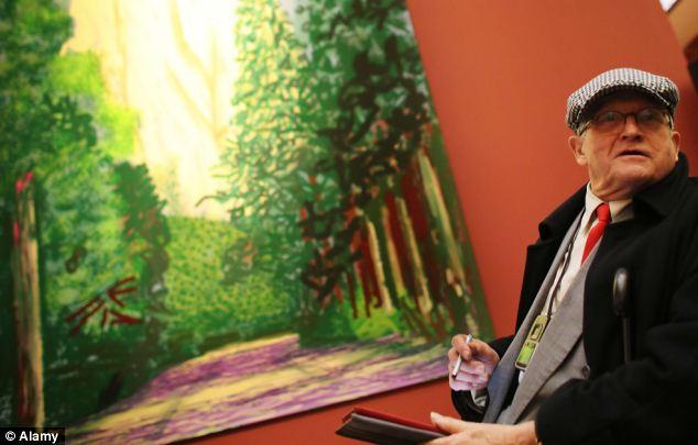 Artist David Hockney