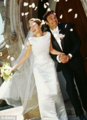Early years: Research shows marriages are more likely to break down at the beginning but are not affected by the state of the economy