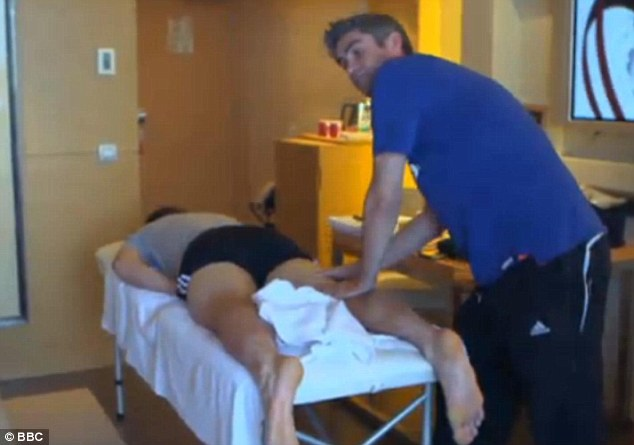 Behind the racquet: The BBC documentary into Andy Murray featured, among others, former physio