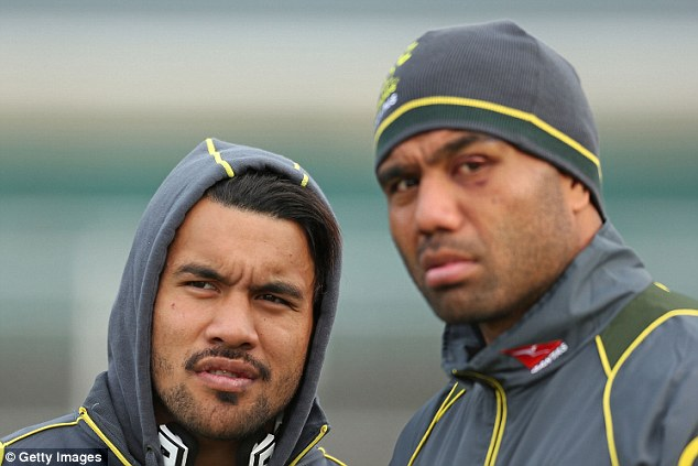 Digby Ioane and Wycliff Palu