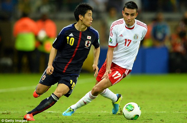 Imperfect 10: Shinji Kagawa, currently away with Japan, was disappointed with his first season at United