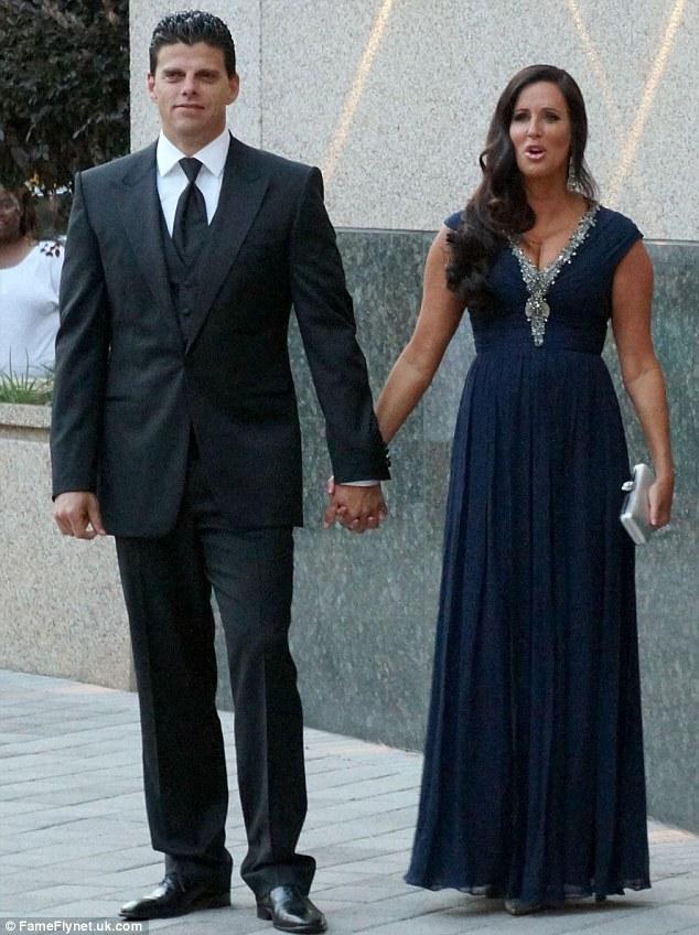 TV cupid: Patti with her boyfriend David Krause