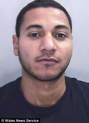 Mohammed Ali Mohamoed, 27, who has been found guilty of breaking ballet dancer, Jack Widdowson's neck during a street robbery in Cardiff
