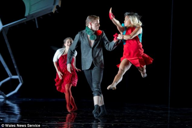 Mr Widdowson was one of the youngest apprentices to be taken on by the Swiss company Bern:Ballet