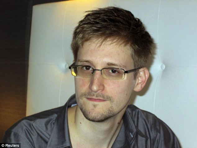 Scheme: Edward Snowden said he took a job with a government contractor to take sensitive information