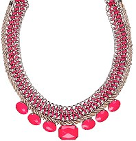 Next: for statement jewellery ¿  posh-looking pieces for an instant wardrobe pep-up.