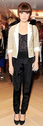 Sandro: Alexa Chung, Pippa Middleton,  Rose Byrne.