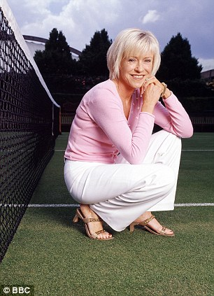Former tennis player Sue Barker is one of the BBC's main sports commentators