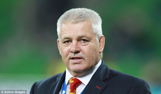 On a roll: Gatland will be looking for his side to build on their first-Test win