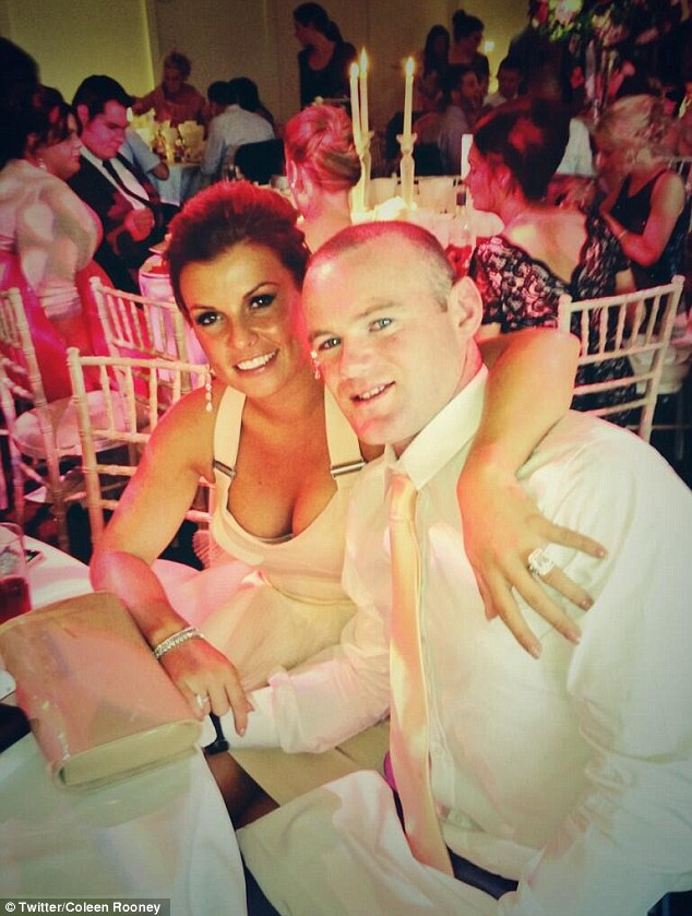 Slimming: Coleen Rooney shed her baby weight for a friend's wedding this weekend by sticking to a three-day juice diet