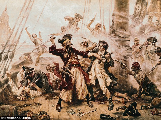 Named after his flowing black beard, Blackbeard - whose real name is thought to be Edward Teach or Thatch - operated around the West Indies and the east coast of the American colonies