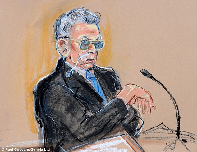 In public: Speaking about his life in prison for the first time, Ian Brady has used a mental health tribunal to describe his 47 years in jail
