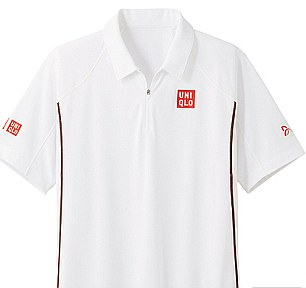 Wimbledon whites: You might not be able to play like Djokovic but now you can look like him, shorts and T-shirt £29.30 each