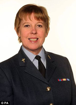 Group Captain Wendy Williams, 54, claimed that she was wrongly passed over for a top RAF job in favour of a male colleague with less experience than her