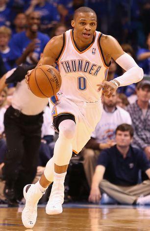 Russell Westbrook: The Oklahoma City Thunder is an All-Star point gaurd
