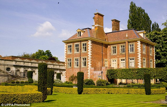The venue: The new Mr and Mrs Blair will celebrate their wedding with a party at South Pavilion in Buckinghamshire