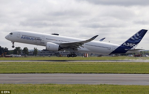 Airbus' new A350, which embarked on its first test flight earlier this month, has managed to fit a row of ten seats across a plane which typically has nine