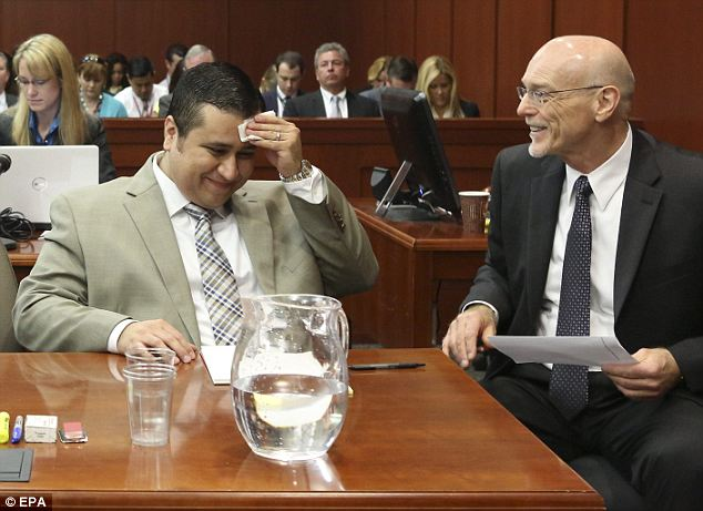 Making him sweat: West's awkward knock knock joke at the trial was cringe-worthy but he recovered slowly