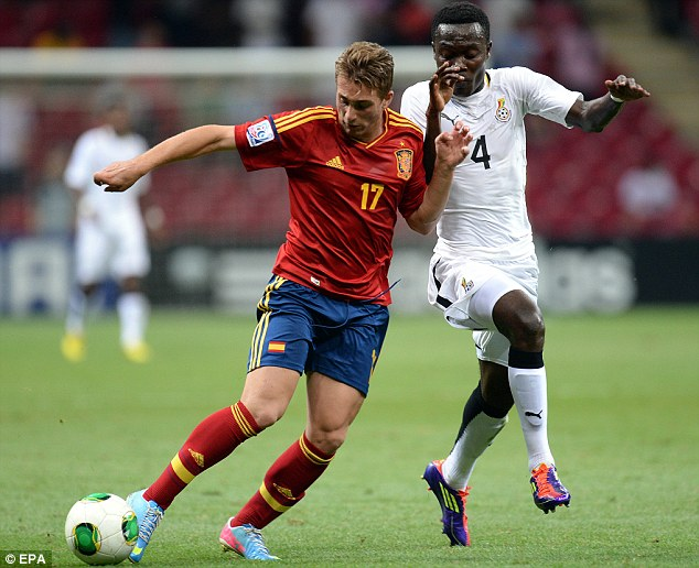 Wonderkid: Barcelona have exceptionally high hopes for Gerard Deulofeu