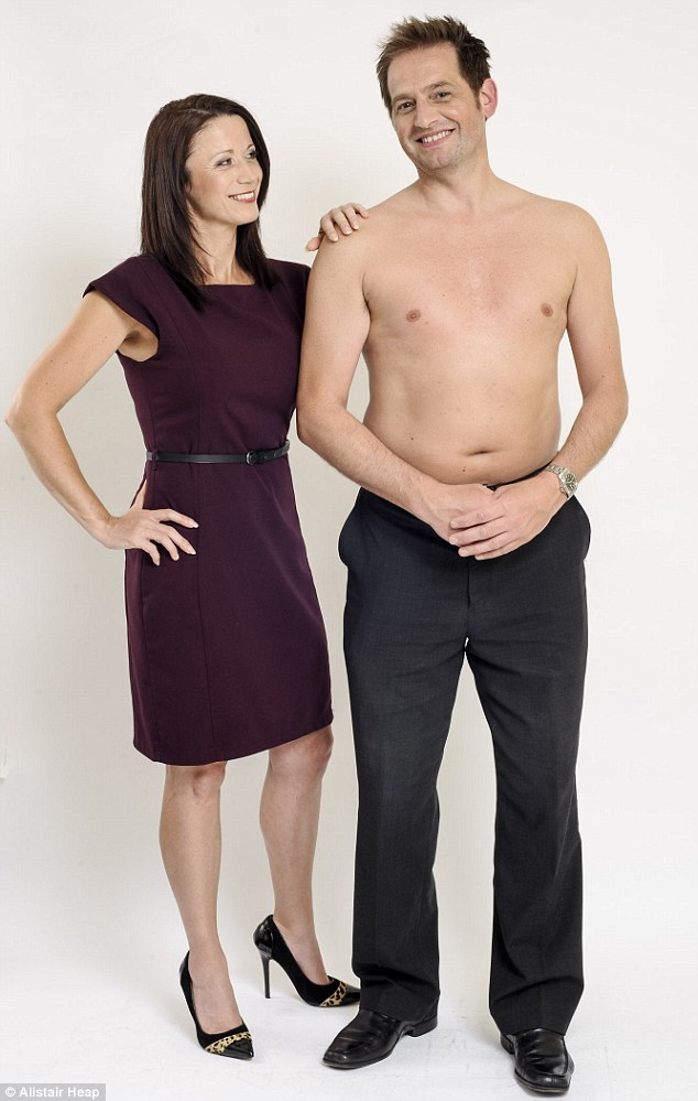 Close shave: Resources manager Aldo spends longer in the bathroom than his wife Nicole