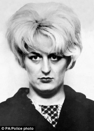 Myra Hindley, Brady's partner, who was convicted alongside him for the killings.
