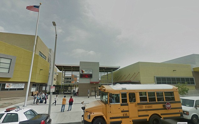 'Assault': The 13-year-old boy was allegedly raped by a classmate at the Los Angeles prep school when his physical education teacher left the pupils unattended