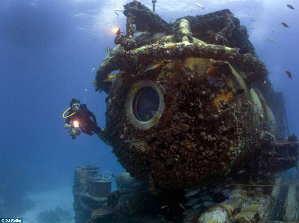 This is the underwater lab where the aquanauts will live for 31 days