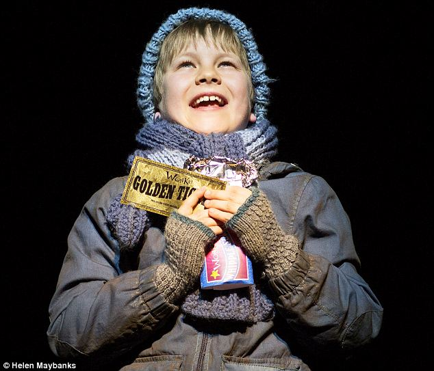 Efficient: Jack Costello in the titular role of poverty-stricken Charlie Bucket, whose dad has lost his job