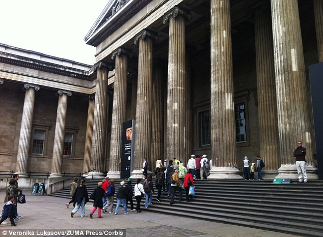 Tourist's favourite: The British Museum hopes exhibitions like the Japanese collection will boost visit number beyond six million