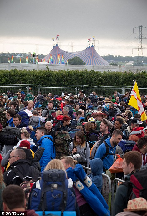 Muggy grey clouds hovered at the start of this year's festival, but the forecast is good