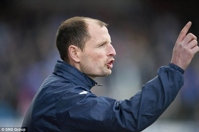 Appointment: Kilmarnock are set to unveil Allan Johnston, formerly in charge of Queen of the South, as their new manager today