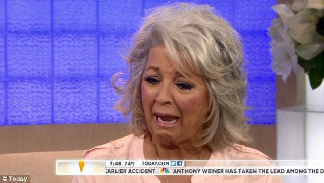 'Distressed': Paula Deen appeared on the Today show to claim 'hurtful lies' had been spread about her