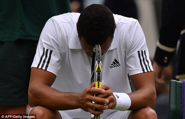 Dream over: Some of the world's leading players have described the Wimbledon courts as 'dangerous'