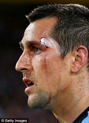 Mitchell Pearce of New South Wales